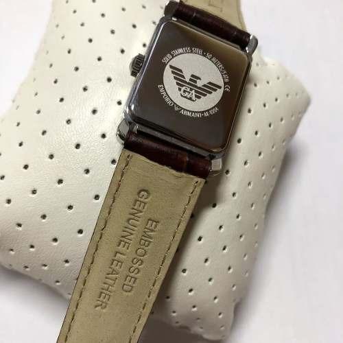 6290bb0e600f5 Relógio Clássico Emporio Armani Masculino Ar0204 - R  689
