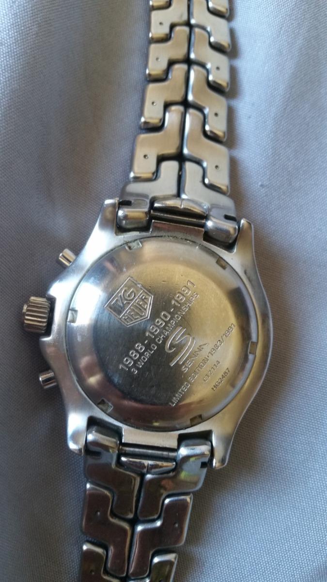 1c1098360fc Relógio Coleção Ayrton Senna Edição Limitada- Original - R  3.800