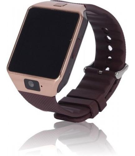 relógio com bluetooth inteligente smartwatch dz09 promoção