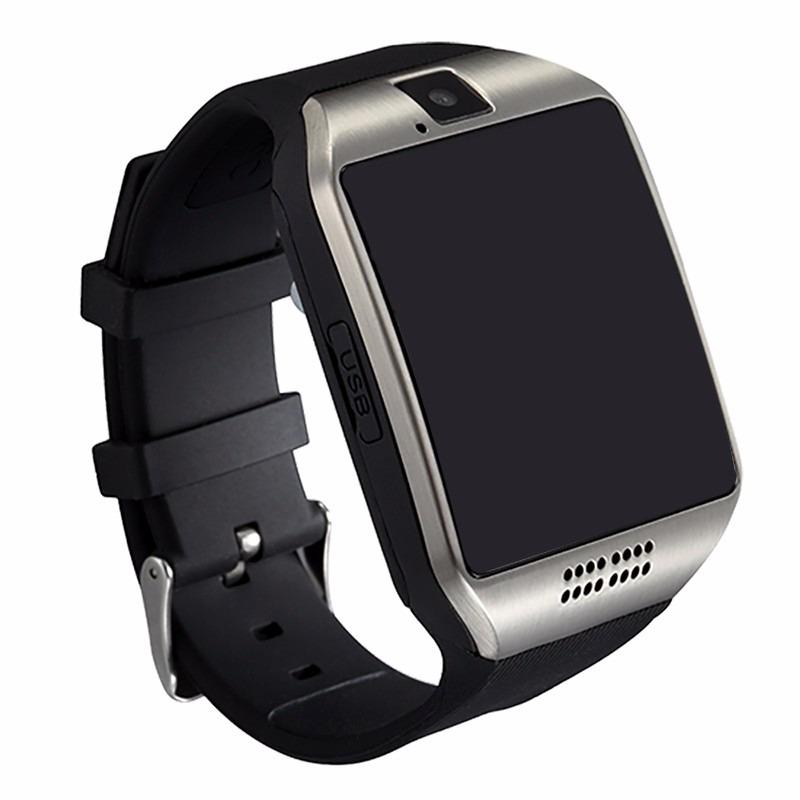 331b968cc95 relógio com câmera bluetooth smart watch q18 independente. Carregando zoom.