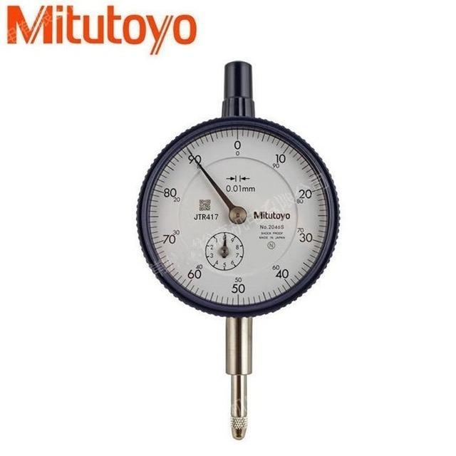 eadef202fc7 Relógio Comparador 0-100 10 Mm 2046s Mitutoyo - R  265