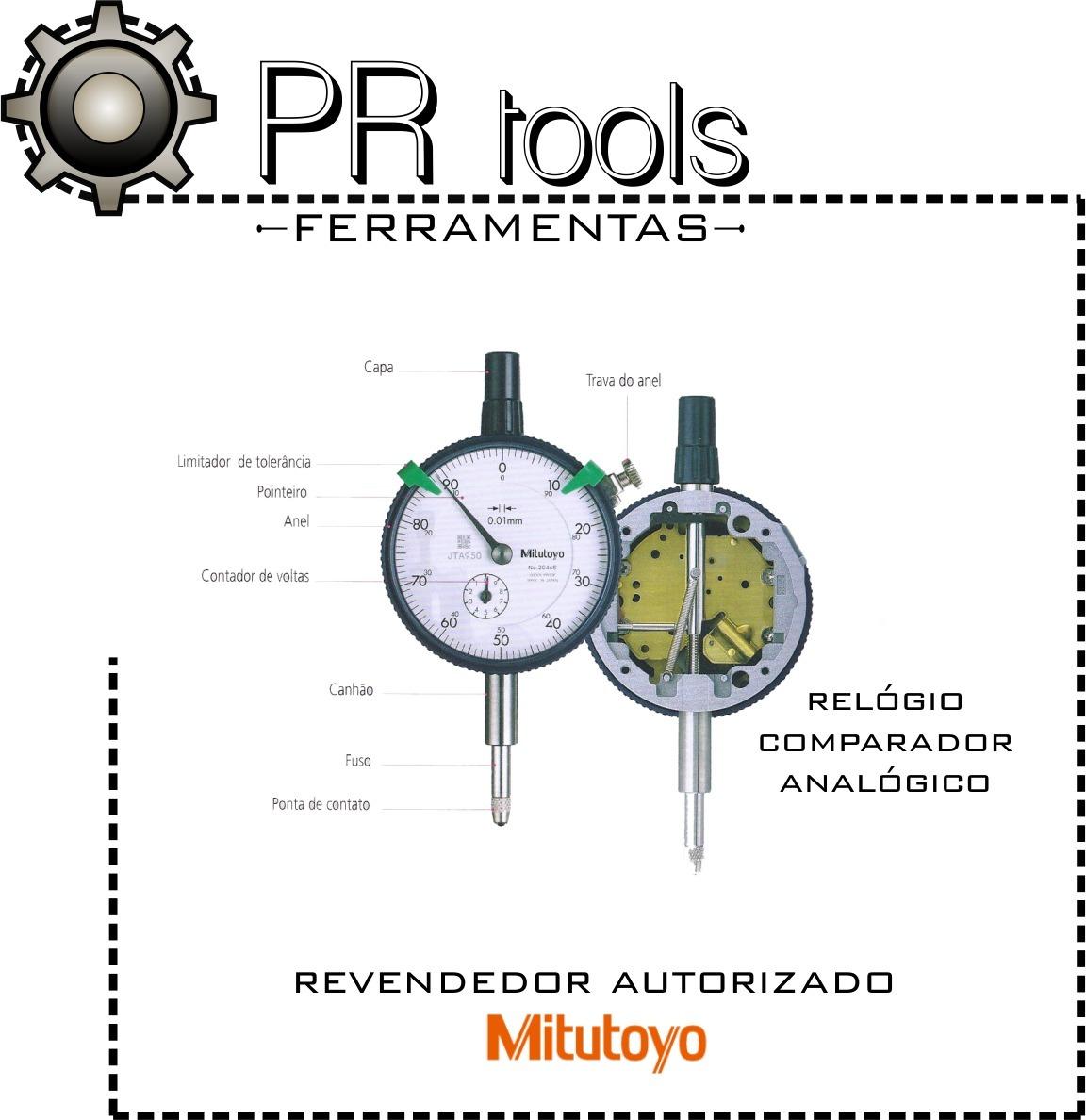 61dac5b7edb relógio comparador 0-100 10 mm 2046s mitutoyo. Carregando zoom.