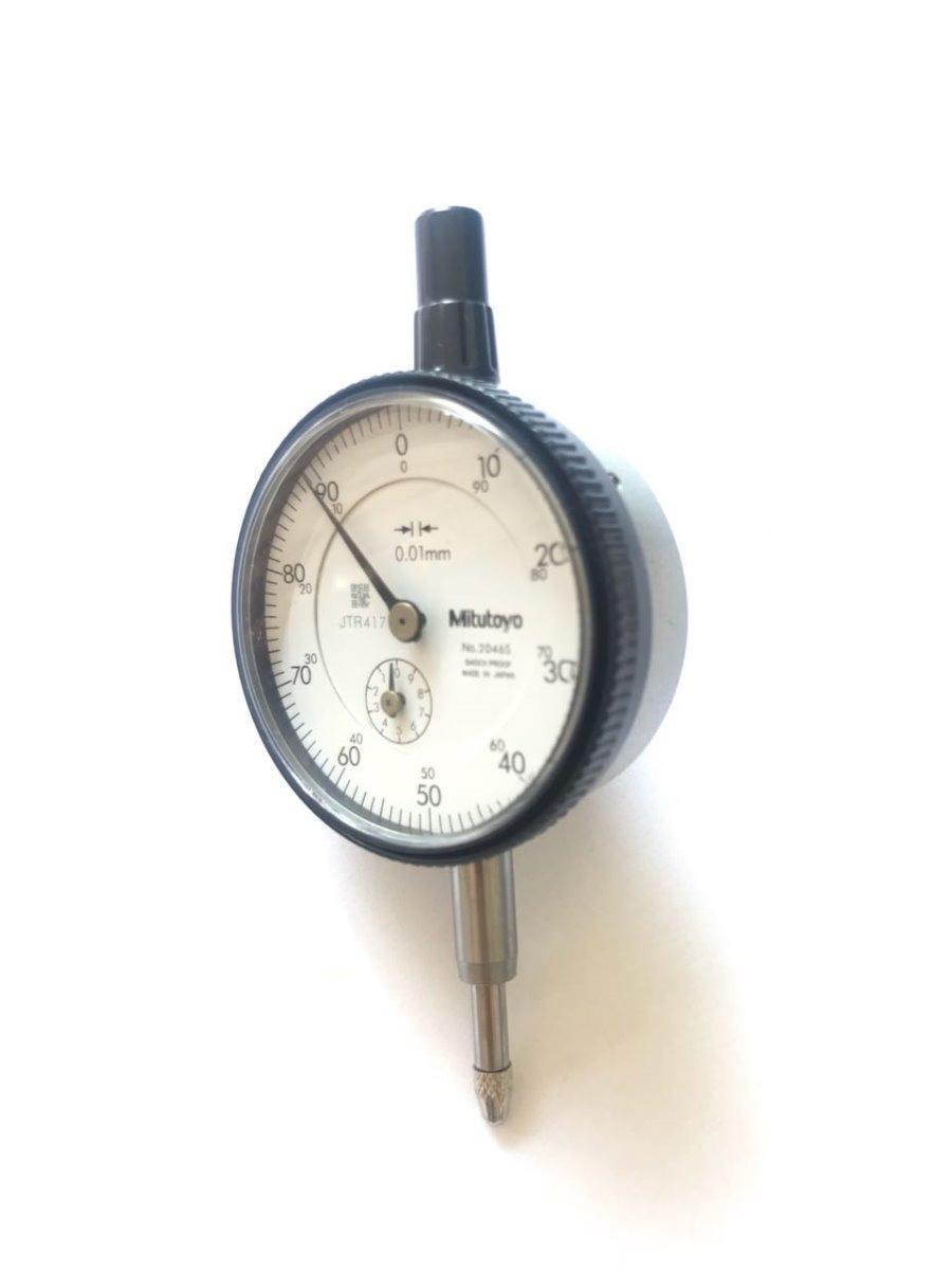 5a96c20e40e relógio comparador de 0-100 mitutoyo-2046s original 100%. Carregando zoom.
