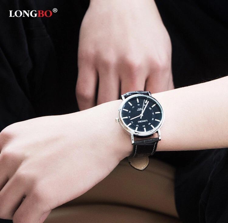 3bfb586a322 Relógio Comprar Barato Promoção Online Pulso Couro - R  135