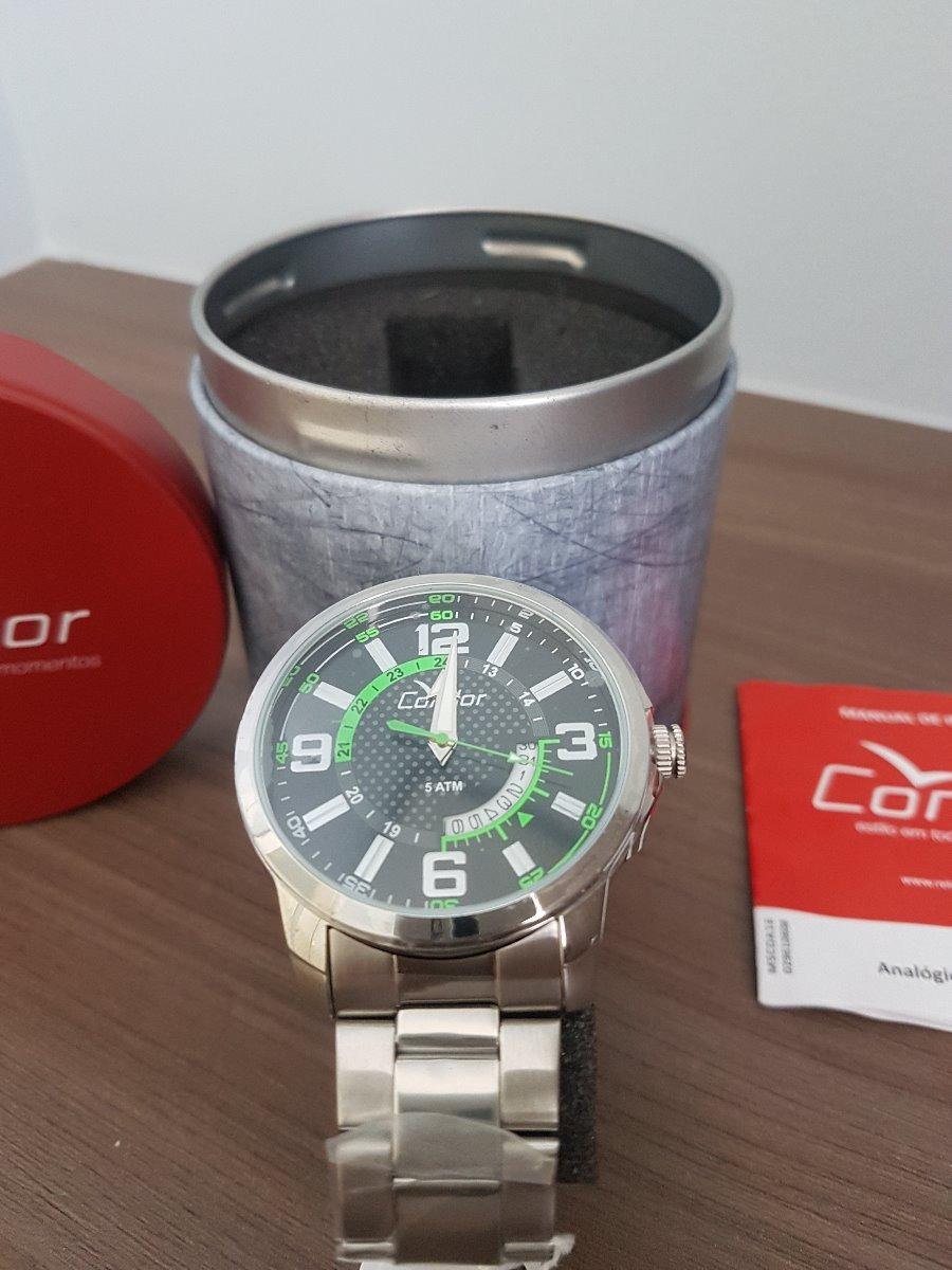 09ba7477446 relógio condor coleção speed co2115vc 3c - prata. Carregando zoom.