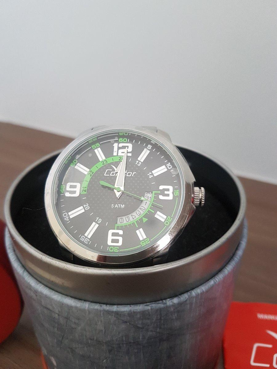 45728313ca9 relógio condor coleção speed co2115vc 3c - prata. Carregando zoom.