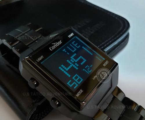 relógio condor digital cronômetro timer alarme calendário nf