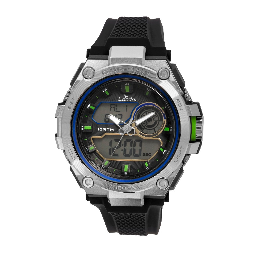 0e656b963cf relógio condor esportivo anadigi masculino - co1161b 8p. Carregando zoom.