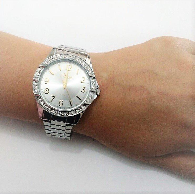 289f1a95279 ... visor prata strass co2035ku 3k. Carregando zoom... relógio condor  feminino