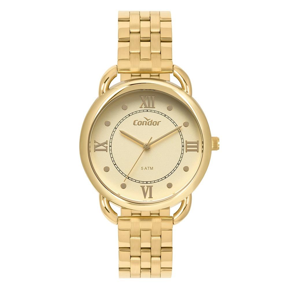 Relógio Condor Feminino Bracelete Co2035mpq4d - R  178,90 em Mercado ... 13b0ab1a70