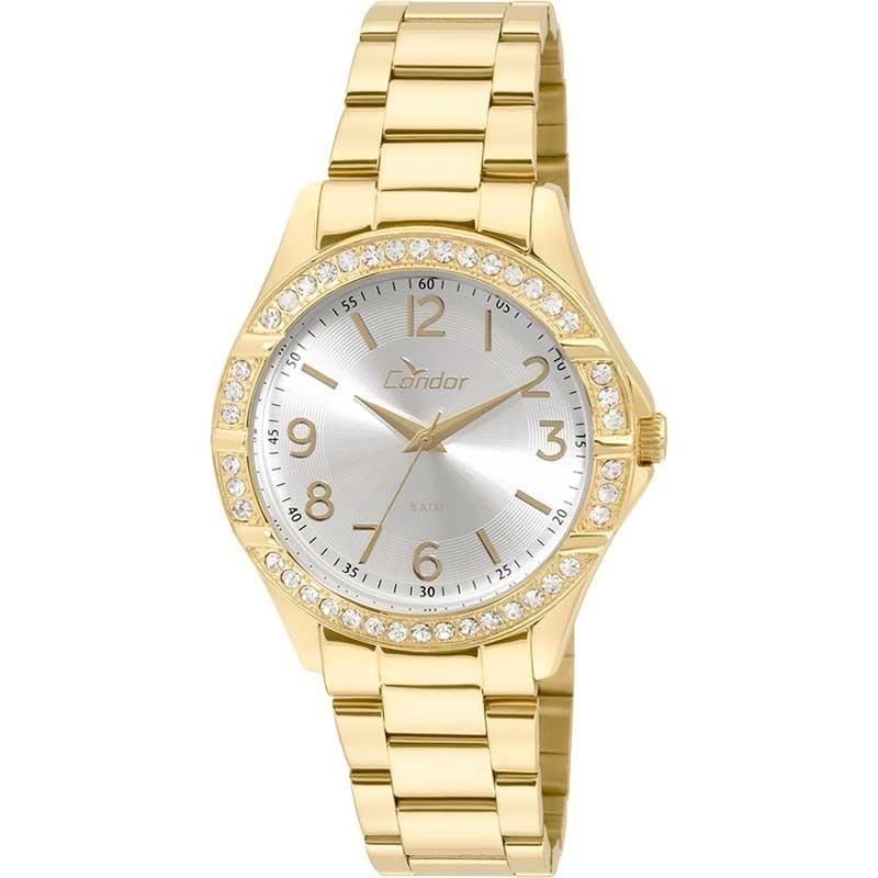 650ade8f6cb Relógio Condor Feminino Bracelete Co2035kus 4k - R  174