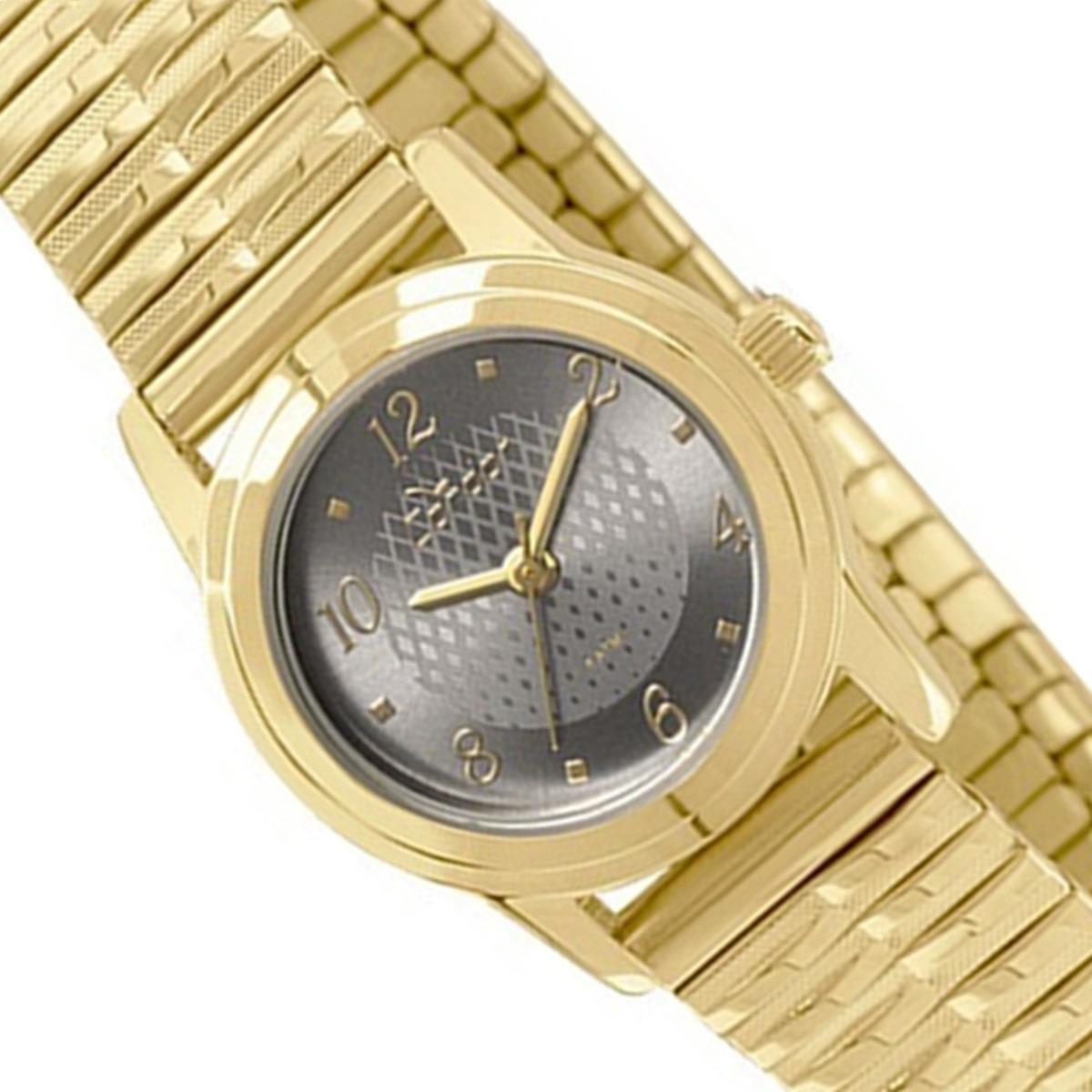 a9b4f095430 Relógio Condor Feminino Pequeno Social Dourado Co2035kqh 4c - R  155 ...