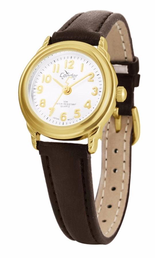 9223b79e35c relógio condor feminino co2035ao 2b couro dourado oferta. Carregando zoom.