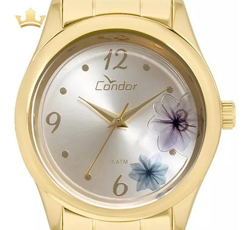 relógio condor feminino co2035kvx/4k com nf