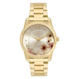 Relógio Condor Feminino Co2039at/4d Dourado Analogico