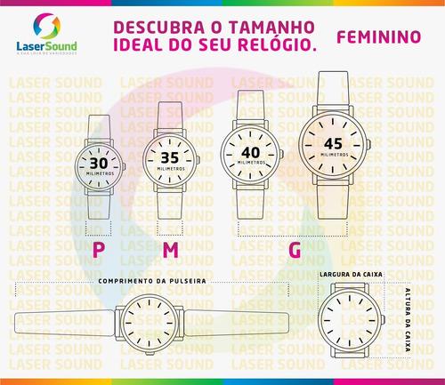 relógio condor feminino cobj3718ab/4x c/ garantia e nf