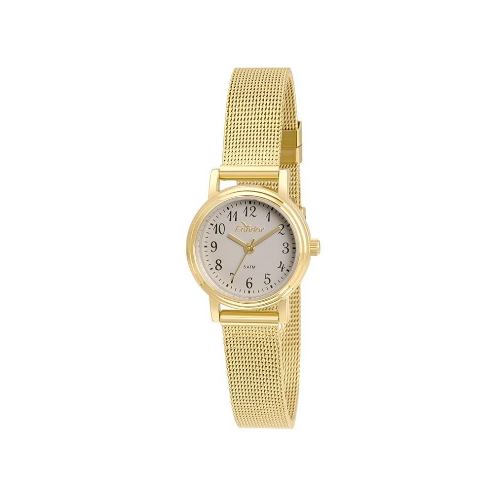 Relógio Condor Feminino Mini Co2035ktz 4c - Dourado - R  149,00 em ... e3f9e77180