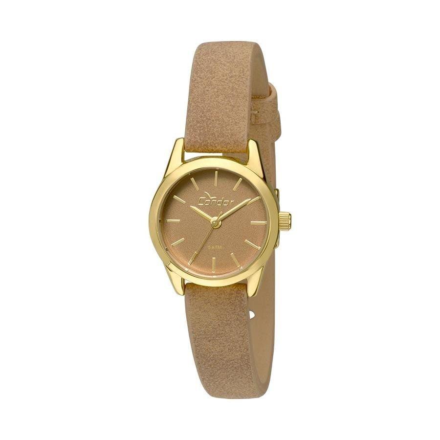 Relógio Condor Feminino Ref  Co2035kmz 2m Mini Dourado - R  119,90 ... 39c64c72ec