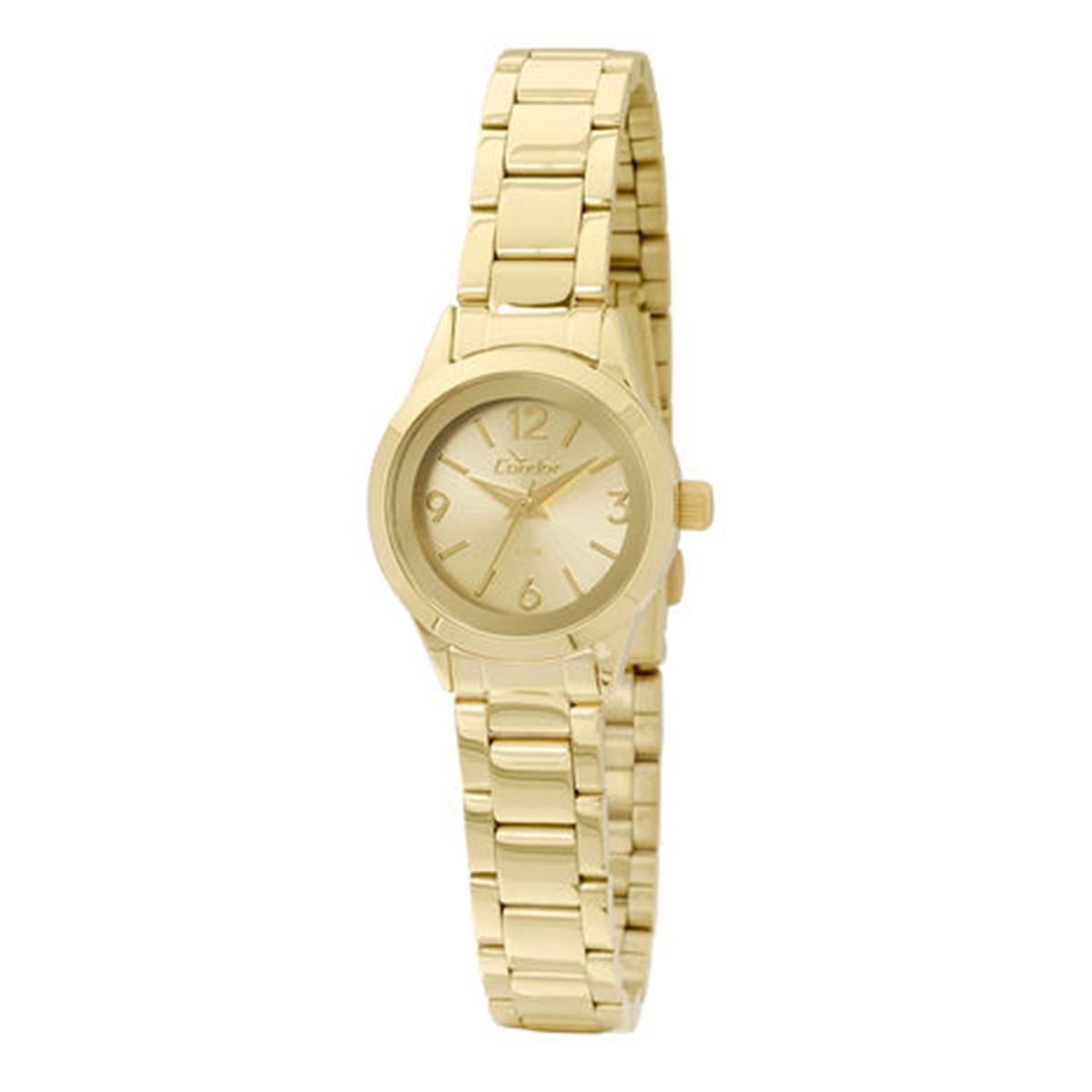 398b6b36f6b relógio condor feminino pequeno social dourado co2035kkt 4x. Carregando zoom .