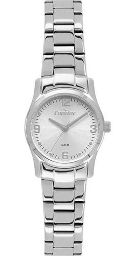 relógio condor feminino ref: co2036kwo/1k mini inox
