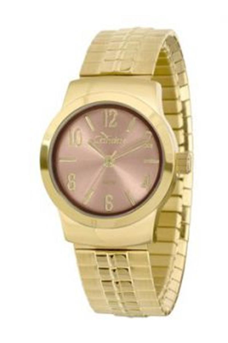6f68d94e6d9 relógio condor feminino social dourado 5 atm co2035klz 4x. Carregando zoom.