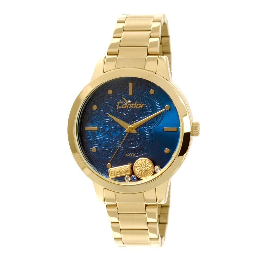 c129e8c76b8 relógio condor mandala azul - co2036cj 4a. Carregando zoom.