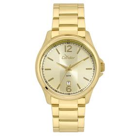 Relógio Condor Masculino Casual Dourado  Co2115ktf/4d