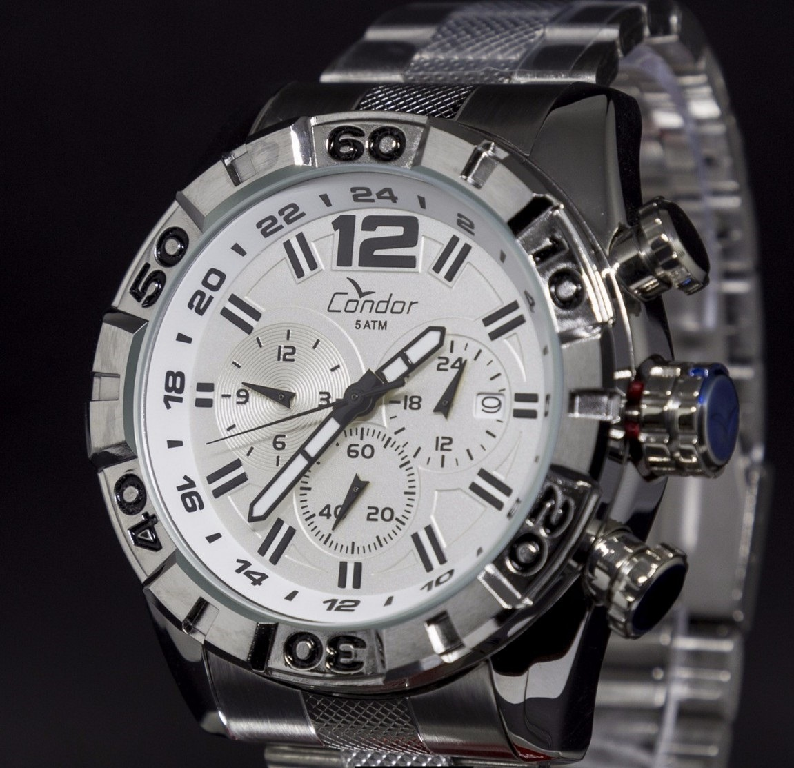 1cb45d21590da relógio condor masculino civic dual time covd33aa 4k. Carregando zoom.