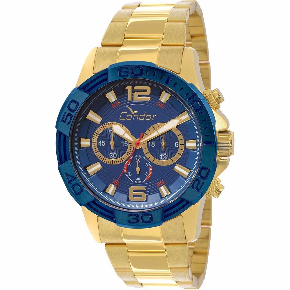 fc597bf42ab relógio condor masculino dourado covd54aa 4a - nfe. Carregando zoom.