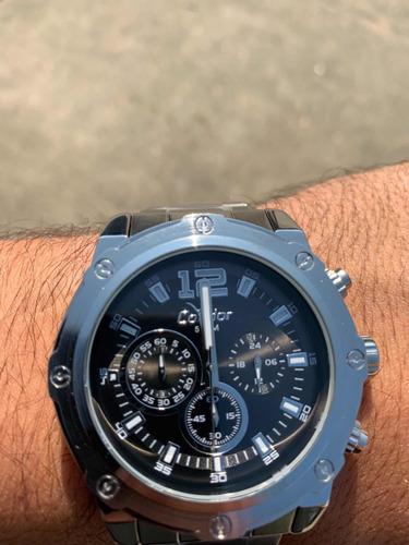 relógio condor masculino prata barato nf covd54ad/k3p