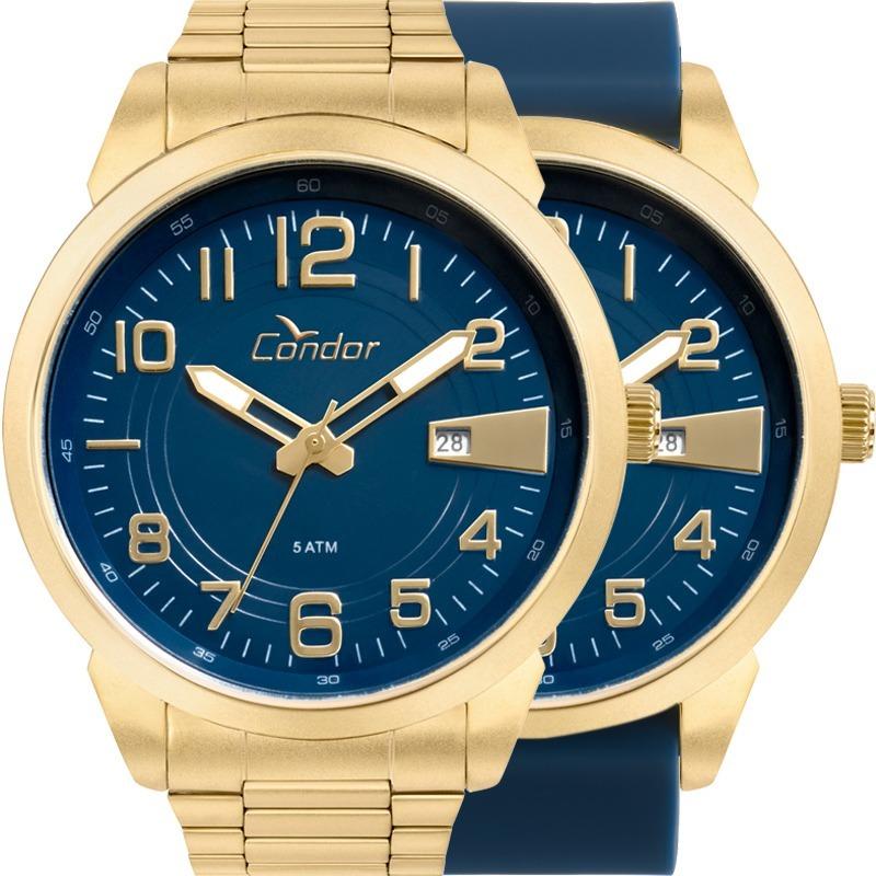 f0203b93a77 relógio condor masculino troca pulseira co2115ktn t4a. Carregando zoom.