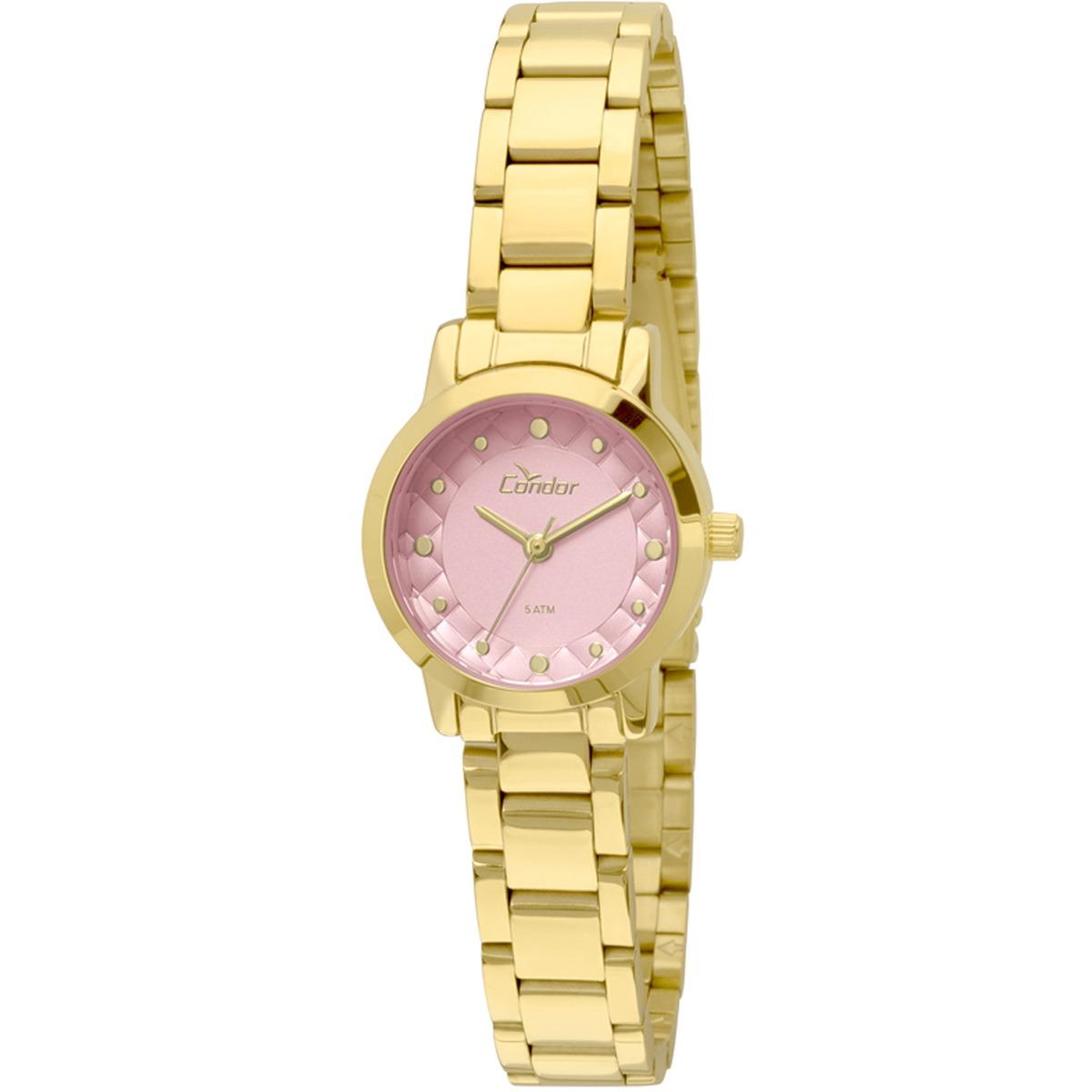 f2bb62475f4 Relógio Condor Mini Feminino Co2036knw 4t - R  149