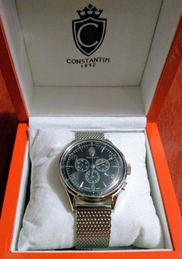 33d4788536d relógio constantim 1892 classic silver legítimo raridade. Carregando zoom.