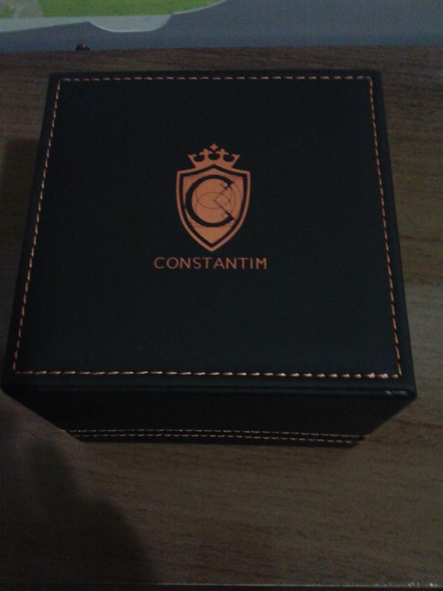 63ac78a208c relógio constantim chronograph gold black zw30198u dourado. Carregando zoom.