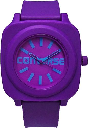 relógio converse analógico roxo - vr032-510