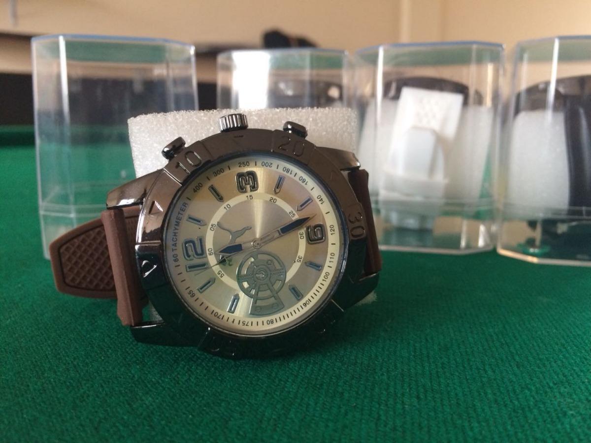 188743157a0 relógio correia de borracha com pilha melhor preço. Carregando zoom.