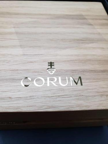relogio corum admiral cup adc massculino novo msrp $8700usd