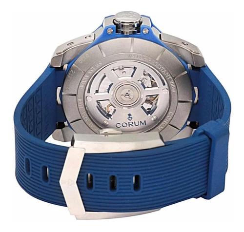 relógio corum admiral's cup ac-one 45 tides blue original