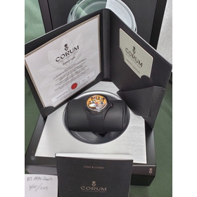 Relógio Corum Bubble 47 Tigre (o Rei Leão - King Lion) Novo
