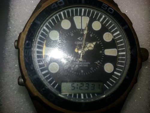 relógio cosmos ana digi retro dec 90 precisa de reparos