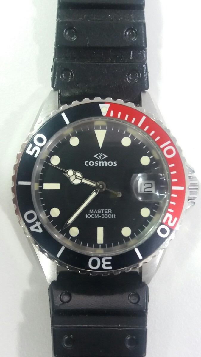 0afdf61da48 relógio cosmos de mergulho. Carregando zoom.
