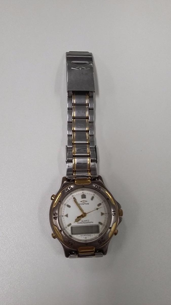 c77c37aad09 Relógio Cosmos Digital E Analógico Masculino (década De 90) - R  66 ...