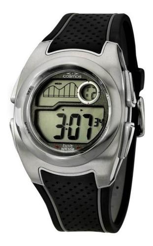 relógio cosmos digital os40932q unissex promoção
