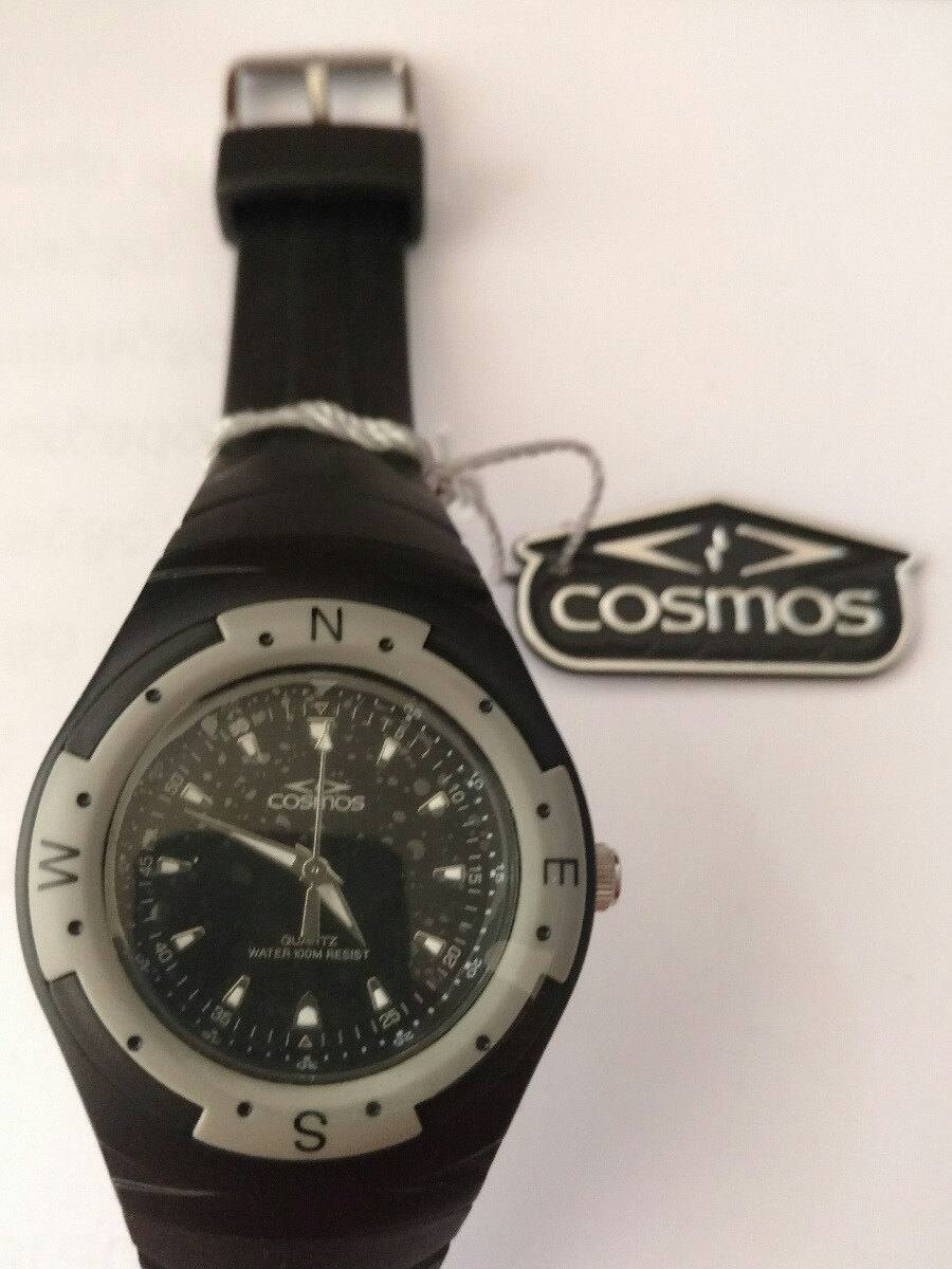 a3821ef4394 relógio cosmos os31693p. Carregando zoom.