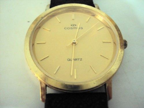 relógio cosmos quartz - anos 70/80