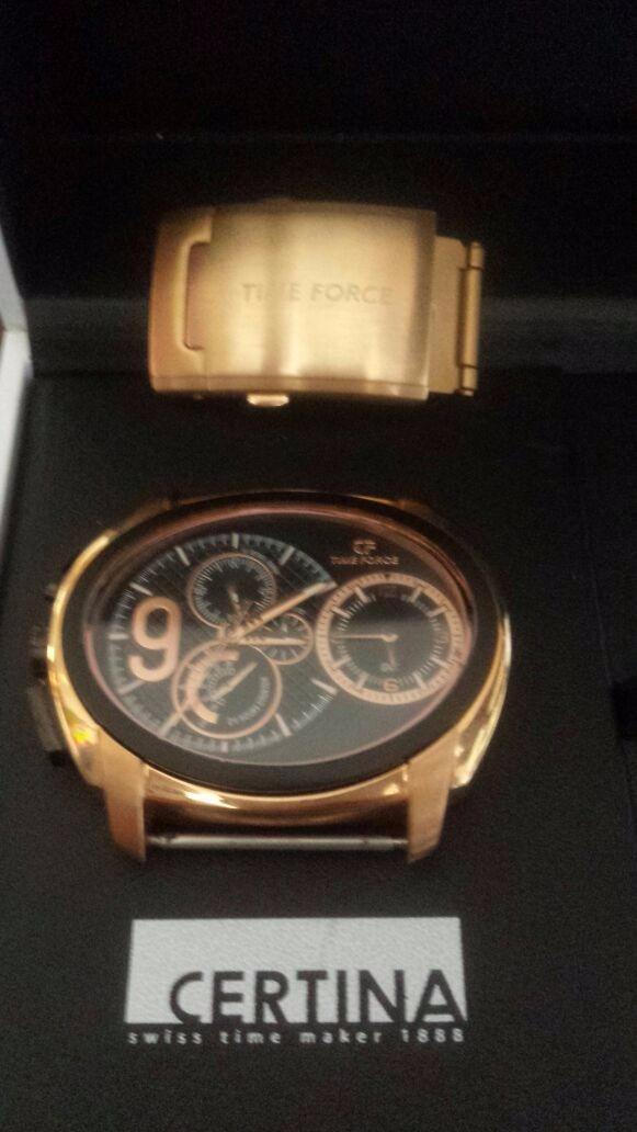 f7a1b085c68 relógio cristiano ronaldo time force - original. Carregando zoom.