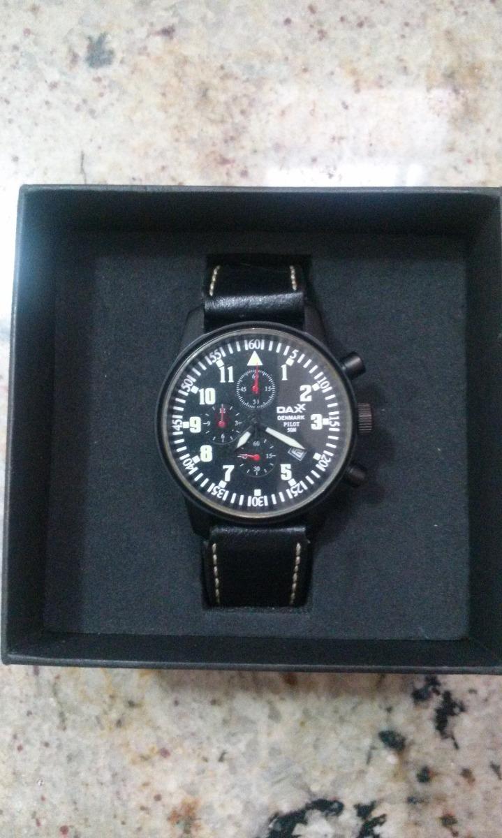 74695adb1c9 Relogio Cronografo Daxx Pilot Usado - R  550