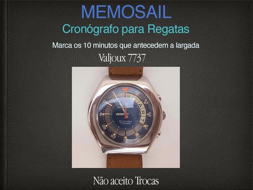relógio cronógrafo para regatas memosail.