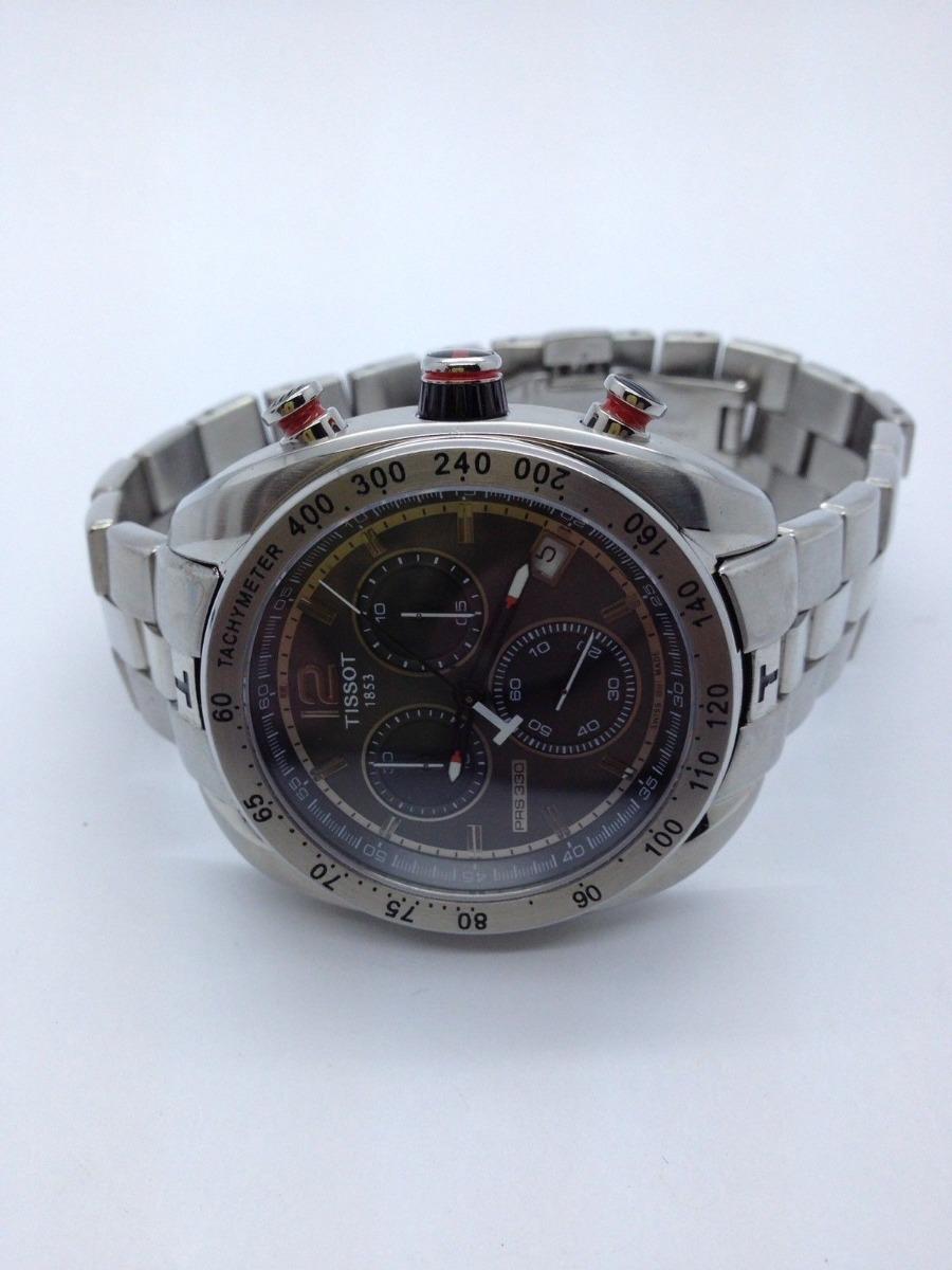 c0a5abea327 relógio cronógrafo suíço tissot modelo p r s 330 autêntico. Carregando zoom.