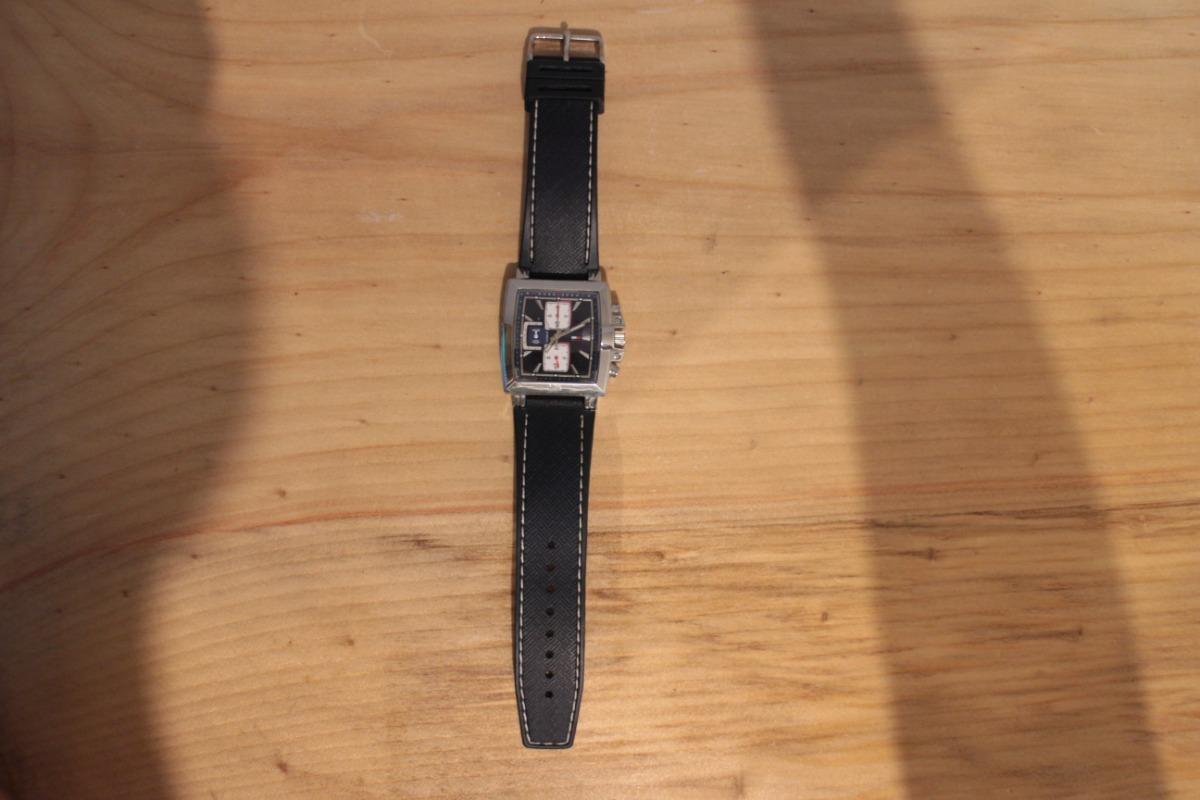 20ea7b6ed39 relógio cronógrafo tommy hilfiger quadrado azul usado. Carregando zoom.